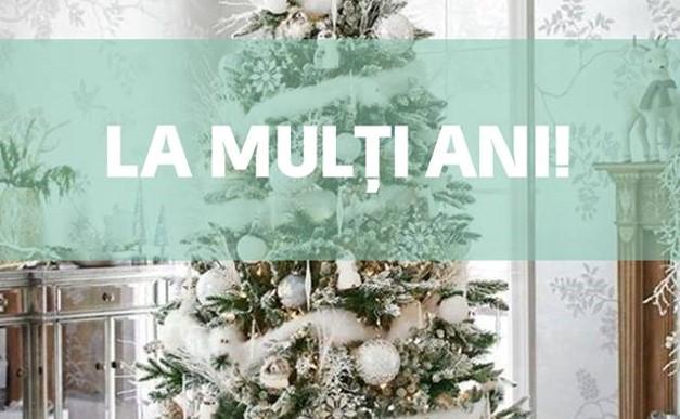La Mulți Ani! Sănăte, pace și fericire în casele Voastre!