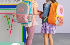 Cum trebuie purtat ghiozdanul pentru a nu deforma spatele elevilor?